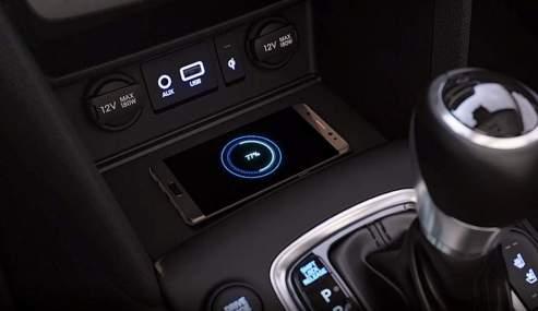 Hyundai Kona Wireless Smartphone Charging