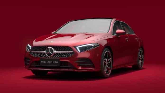 Mercedes A-Class L Sedan Auto China 2018 5