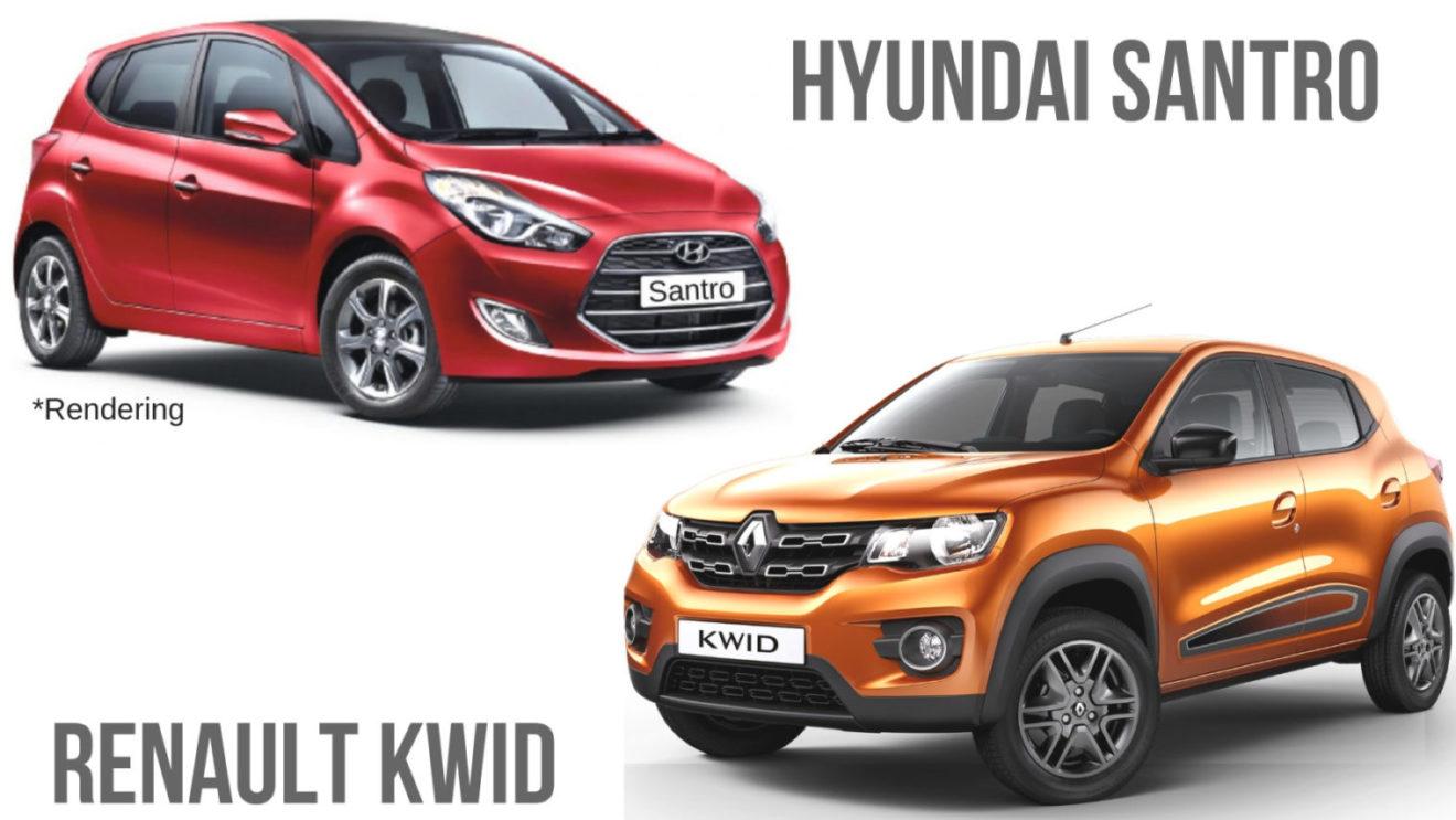 hight resolution of 2018 hyundai santro vs renault kwid comparison