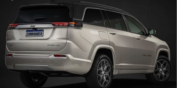 India-Bound Jeep Commander 7-Seater SUV Leaked Ahead Of Premiere
