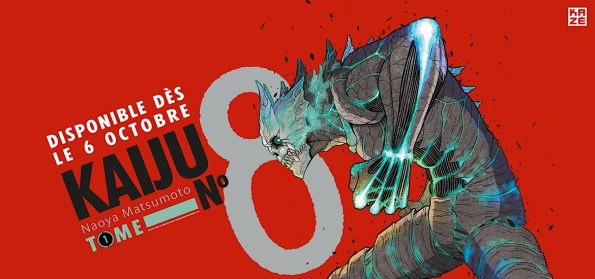 Le phénomène Kaiju No. 8 arrive déjà en France chez Kazé! - Gaak