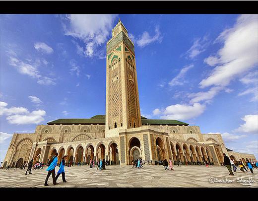 Masjidka-Al-Hassan-Casabalanka-Moroco.