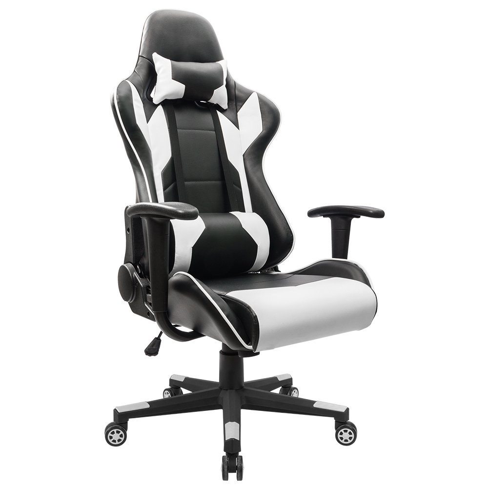 gaming chair best modern black leather recliner cheap chairs 2018 don t buy before reading this homall executive swivel