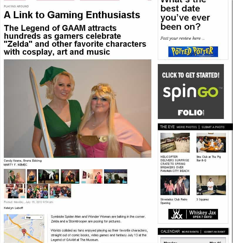 """Folioweekly – """"A Link to Gaming Enthusiasts"""""""