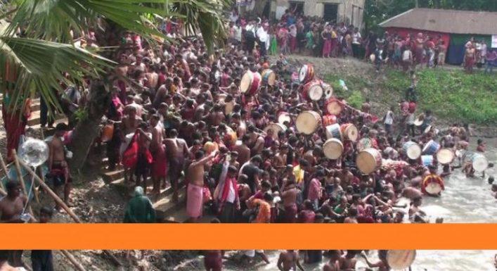গোপালগঞ্জের ওড়াকান্দি বারুণীমেলা