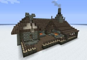 minecraft medieval blacksmith building cool builds buildings houses build blacksmiths pack project planetminecraft casas haus forge plantillas tutorial cottage casa