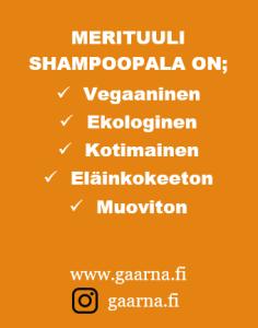Gaarna, Merituuli shampoopala