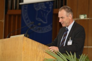 Sverker Sörlin during his keynote address
