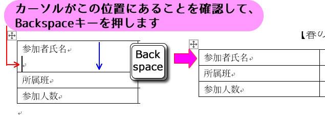 表内の不要な改行 パソコン教室 エクセル Excel オンライン 佐賀 zoom