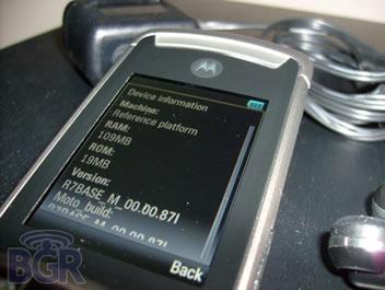 Motorola RAZR3