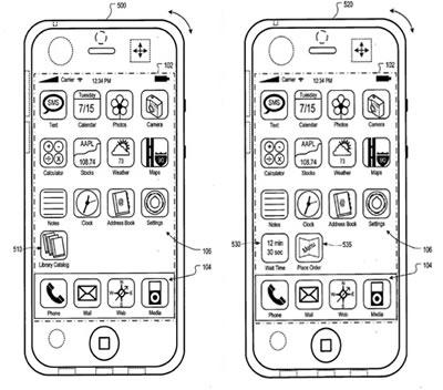 Patente Apple Ubicacion