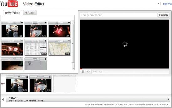 Editor de Videos YouTube