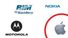 Motorola, Nokia, RIM responden a Apple