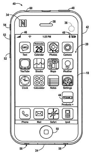 Patente de Apple para Informacion de Productos