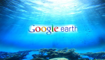 Google Earth para Android muestra Oceano