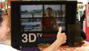 Television 3D sin gafas
