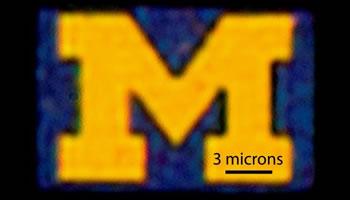 University of Mischican Nanotecnologia pantallas