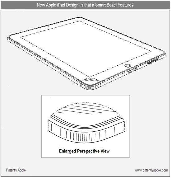 patente de apple para conectar el ipad a un dock de forma
