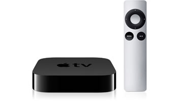 Apple TV negro