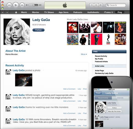 Red social de Apple