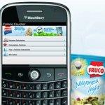 Fruco Contador Caloria App BlackBerry Colombia