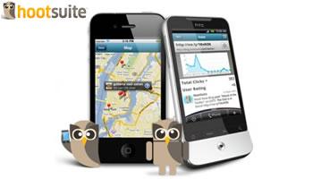 Hootsuite gratis para Android e iPhone