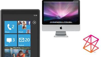 Microsoft Phone 7 y Zune para Apple Mac