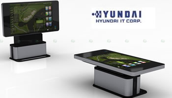 Superficie televisor táctil Hyundai IT