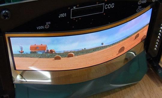 TDK pantallas flexibles