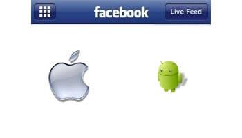 Actualización de Aplicación de Facebook para iPhone y Android