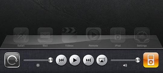 Barra multitarea Apple iOS 4.2