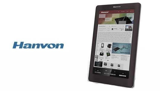 Hanvon e-reader tinta electronica en color - e-ink color
