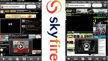 Skyfire trae flash al iPhone