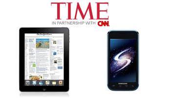 iPad y Samsung Galaxy S en lista Top 10 productos 2010