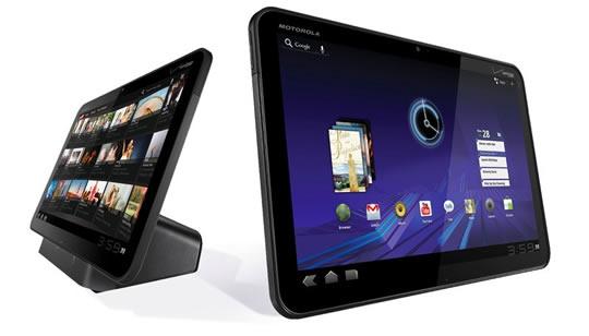 Motorola Xoom con Android Honeycomb