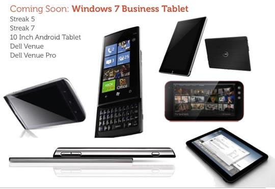 Dell Windows 7 Empresarial - Windows tablet 7