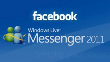 Facebook en Windows Live Messenger
