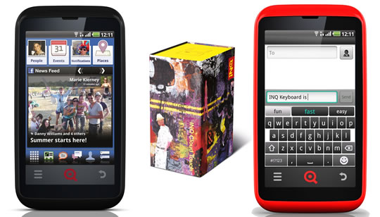 INQ Cloud Touch y el INQ Cloud Q - Facebook Phone
