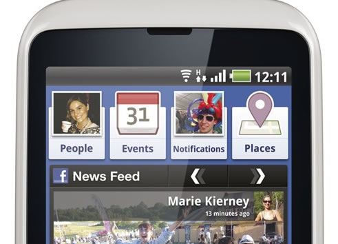 INQ Cloud Touch INQ Cloud Q - Facebook Phone