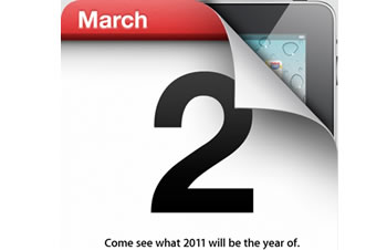 Marzo 2 Apple iPad 2