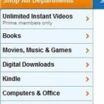 Servicio instantáneo de películas de Amazon