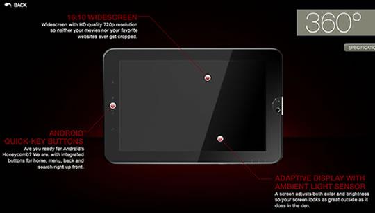 Tablet de Toshiba