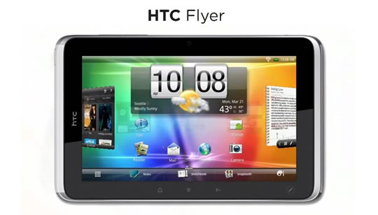 HTC Flyer - Tablet