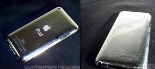 iPod Touch sin boton o capacitivo y parte metalica