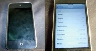 iPod Touch sin boton o capacitivo