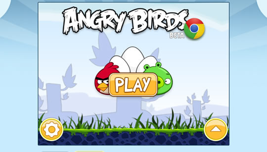 AngryBirds para Chrome Web Store