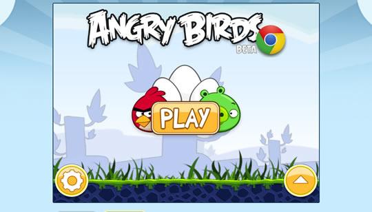 AngryBirds para Chrome Web Store