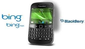 Microsoft Bing en BlackBerry - RIM