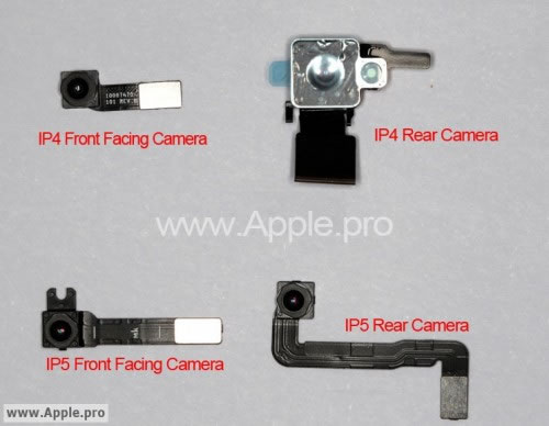 iPhone 5 o iPhone 4S camaras