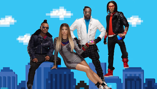 BlackEyed Peas en concierto en vivo por Internet